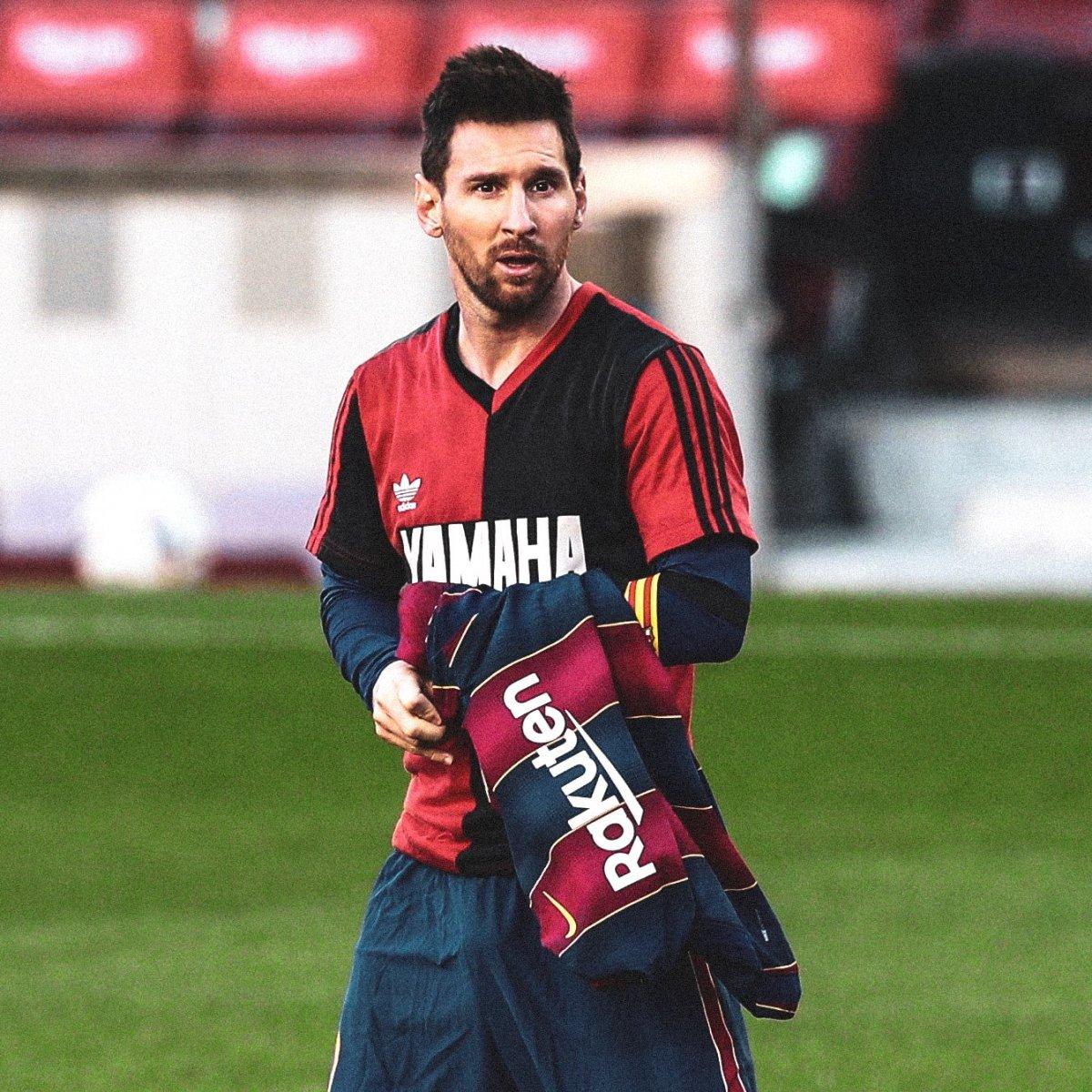 Messi'den Maradona'ya formalı veda