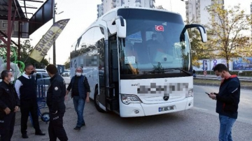 Otobüste 12 terörist var iddiası, şehri alarma geçirdi