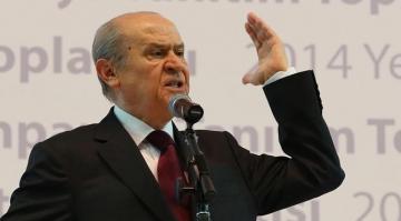 """Devlet Bahçeli: """"Kılıçdaroğlu eğer mafya görmek istiyorsa birlikte yürüdüğü, anayasa hazırladığı teröristlere baksın"""""""