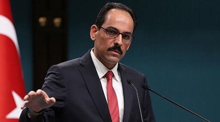 """""""TSK satıldı"""" diyen CHP'liye İbrahim Kalın'dan sert cevap"""