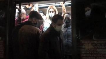 Biz akıllanmayız: 14 kişilik minibüsten 41 yolcu çıktı