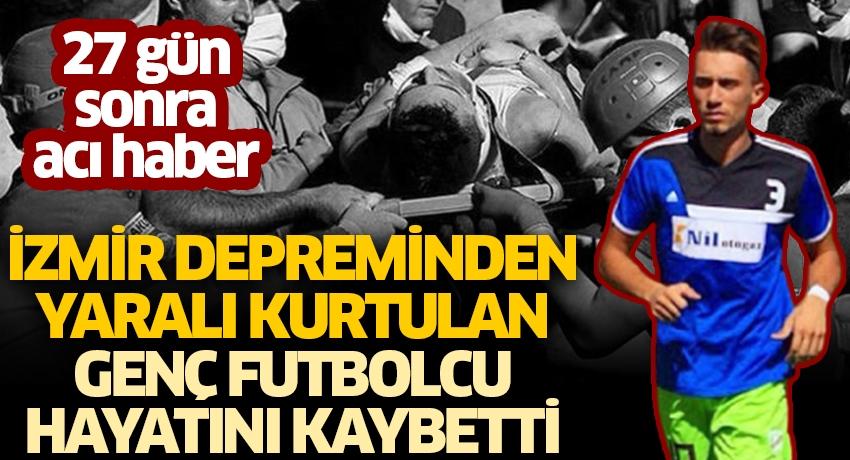 27 gün sonra acı haber! İzmir depreminden yaralı kurtulan Malik Tahirler hayatını kaybetti