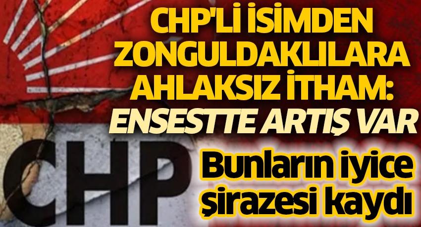 Bunların iyice şirazesi kaydı! CHP'li isimden Zonguldaklılara ahlaksız itham: Ensestte artış var