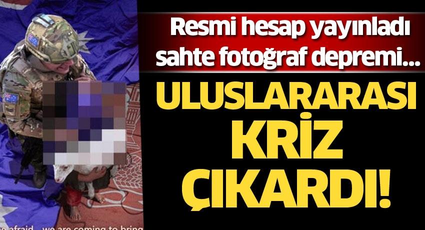 Resmi hesap yayınladı, sahte fotoğraf depremi… Uluslararası kriz çıkardı!