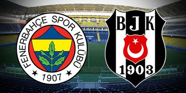 Kadıköy'de dev Fenerbahçe-Beşiktaş derbisi heyecanı
