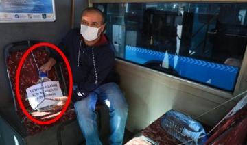Otobüs şoförü: Su bidonu koydum onun bile üzerine oturdular