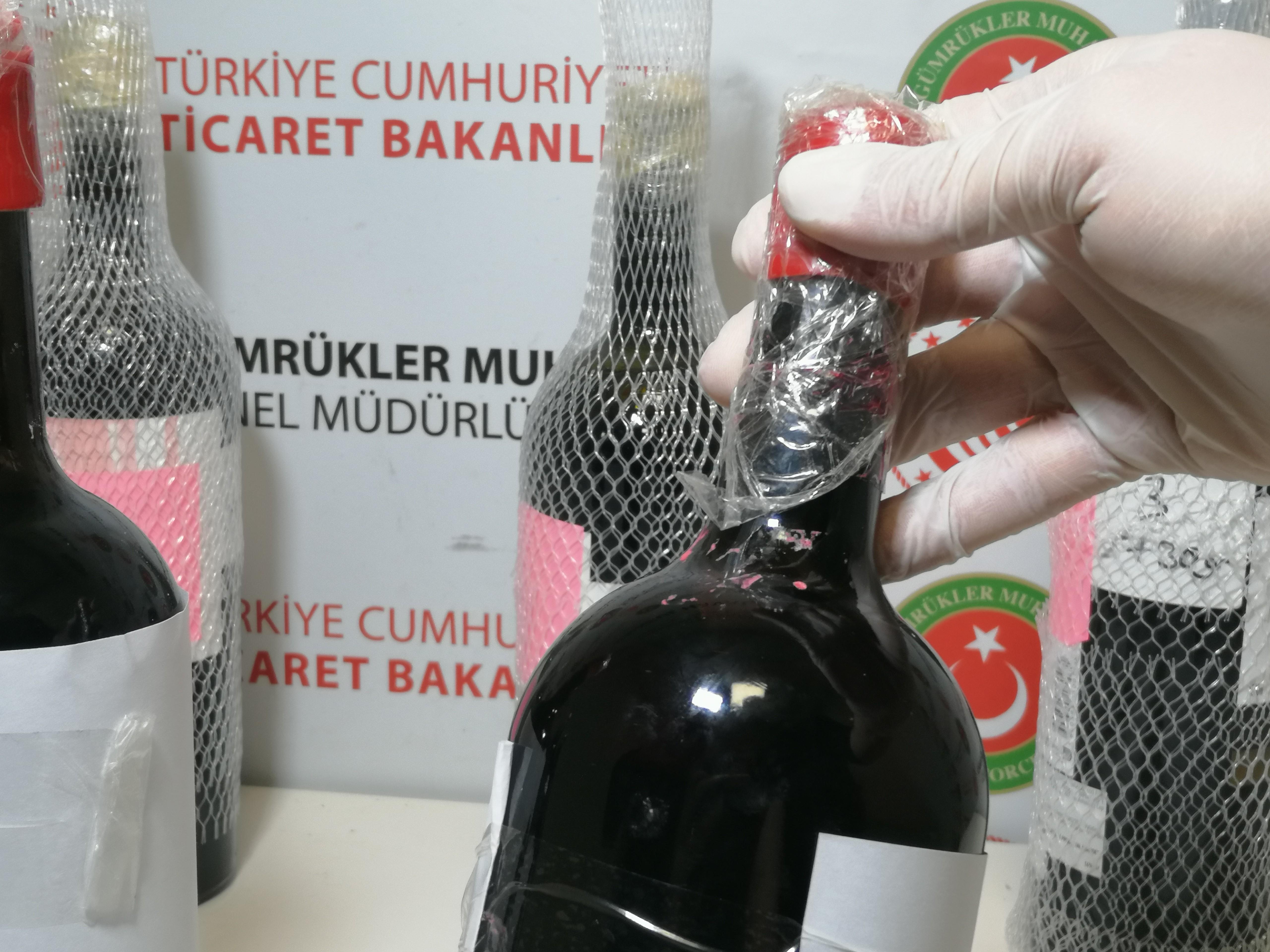 Sıvı hale getirip şişeye koymuşlar! Polis ekipleri İstanbul Havalimanı'nda yakaladı