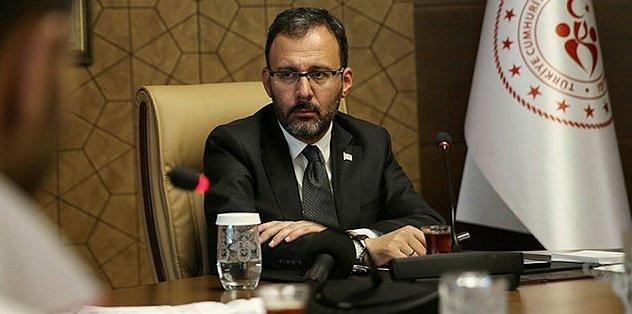 Gençlik ve Spor Bakanı Dr. Mehmet Muharrem Kasapoğlu koronavirüse yakalandı