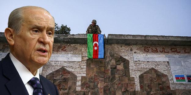 """Devlet Bahçeli, Azerbaycan'daki hedefini açıkladı! """"Cumhurbaşkanlarının müsaadesi ve izni olursa…"""""""