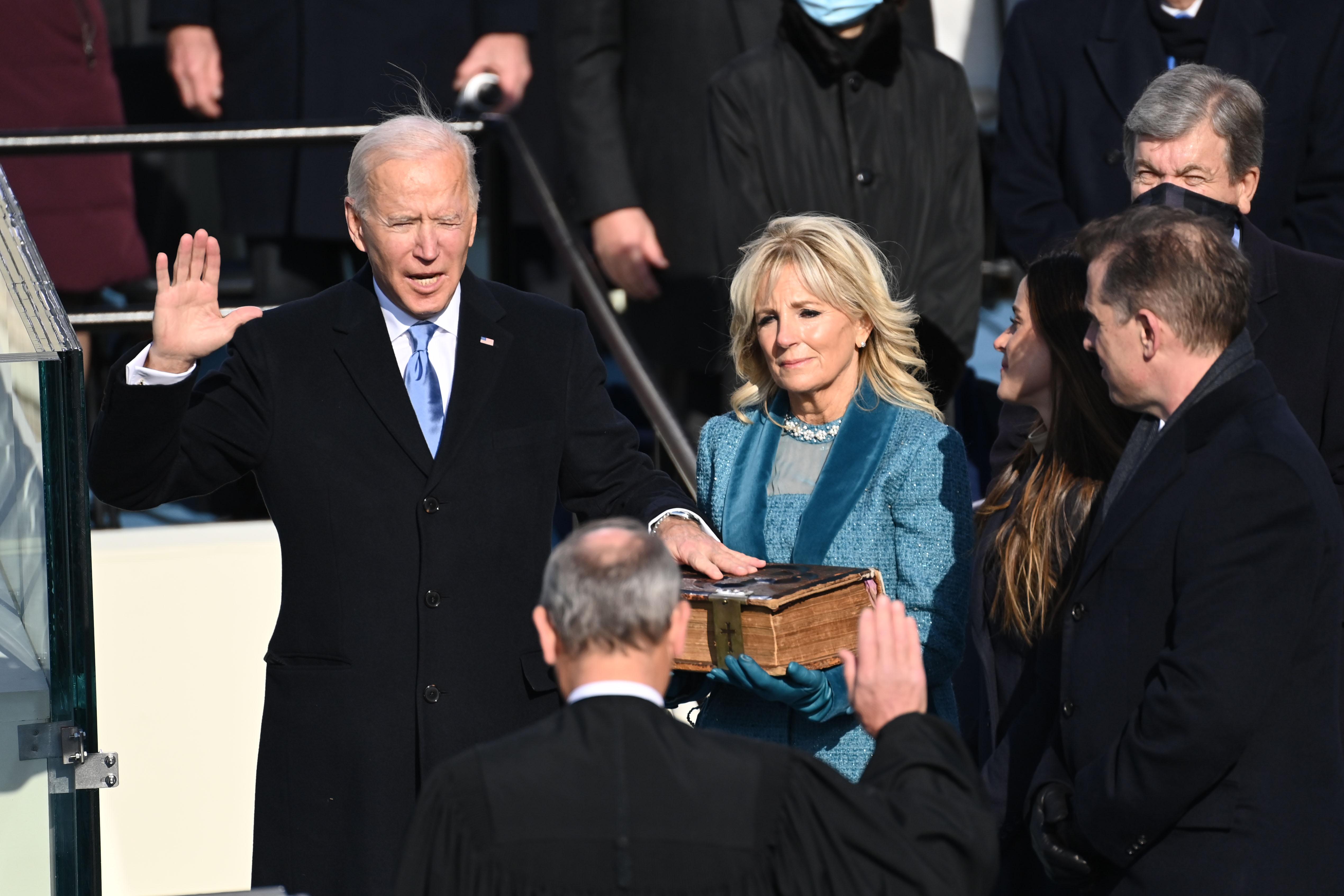 Yeminini etti! Joe Biden, resmen ABD'nin 46. başkanı oldu