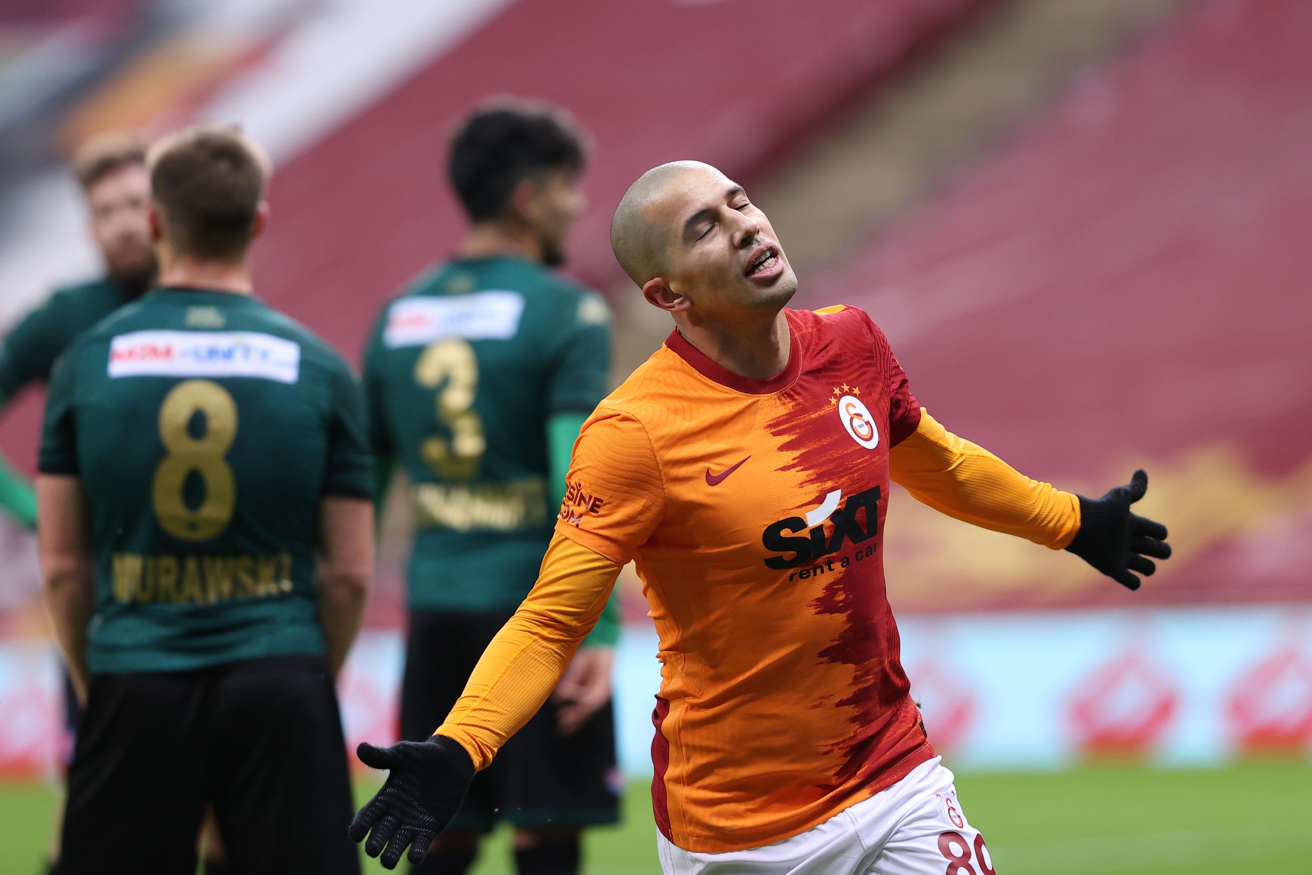 Galatasaray'dan Denizlispor'a gol yağmuru