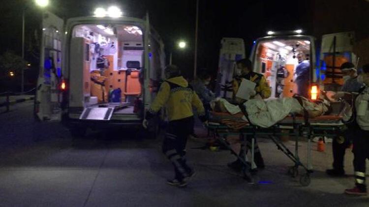 Define ararken patlama! 1 kişi ağır yaralandı