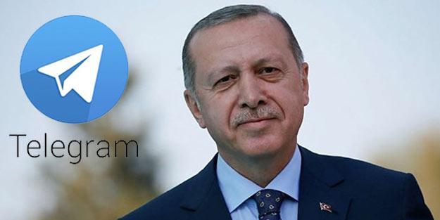 Cumhurbaşkanı Erdoğan, Telegram üzerinden ilk mesajını paylaştı! Vatandaşlara kritik uyarı