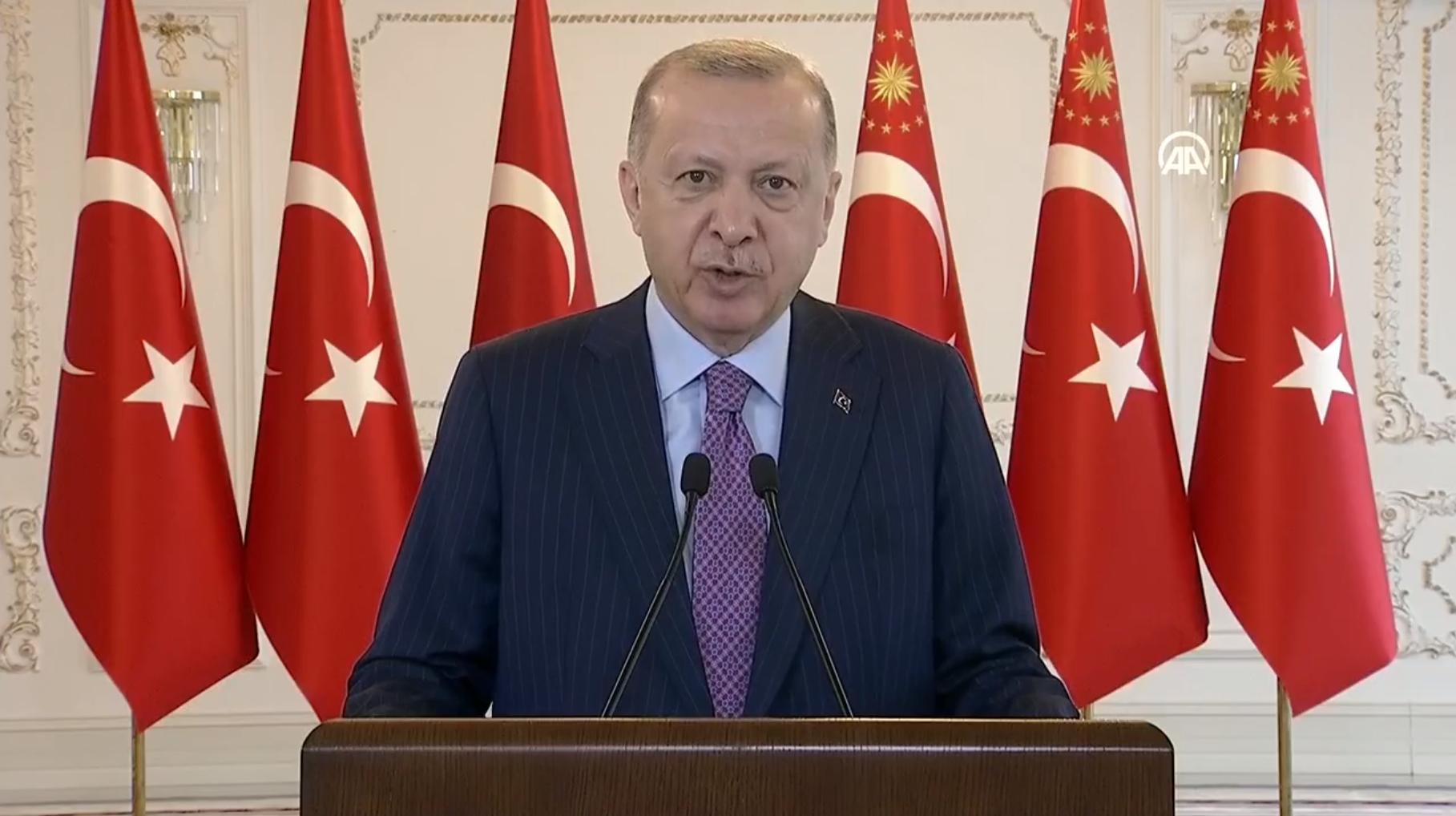 Dev enerji projeleri Cumhurbaşkanı Erdoğan'ın liderliğinde açıldı