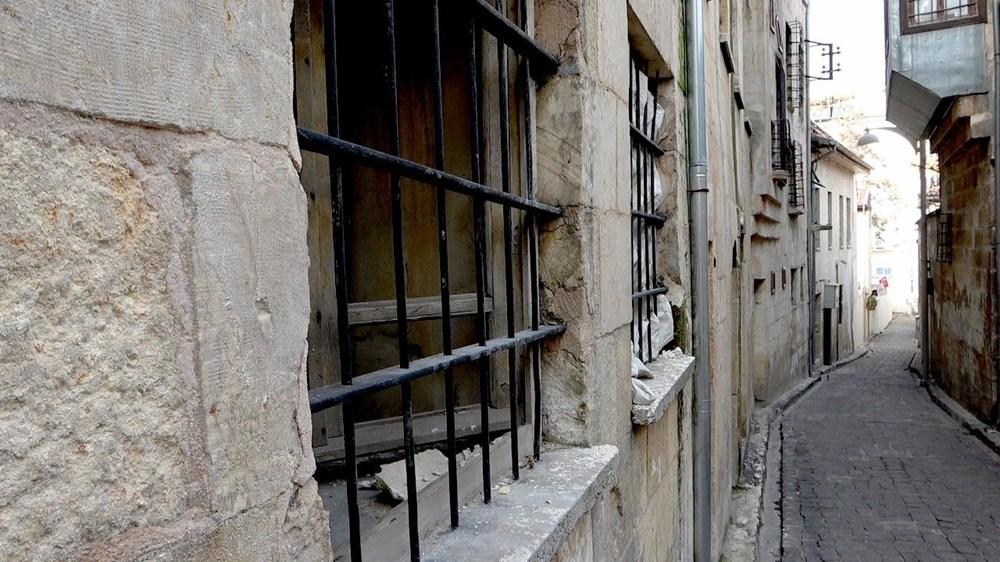 Gaziantep'in kültür mozaiği 'tarihi Bey Mahallesi' en sessiz günlerini yaşıyor