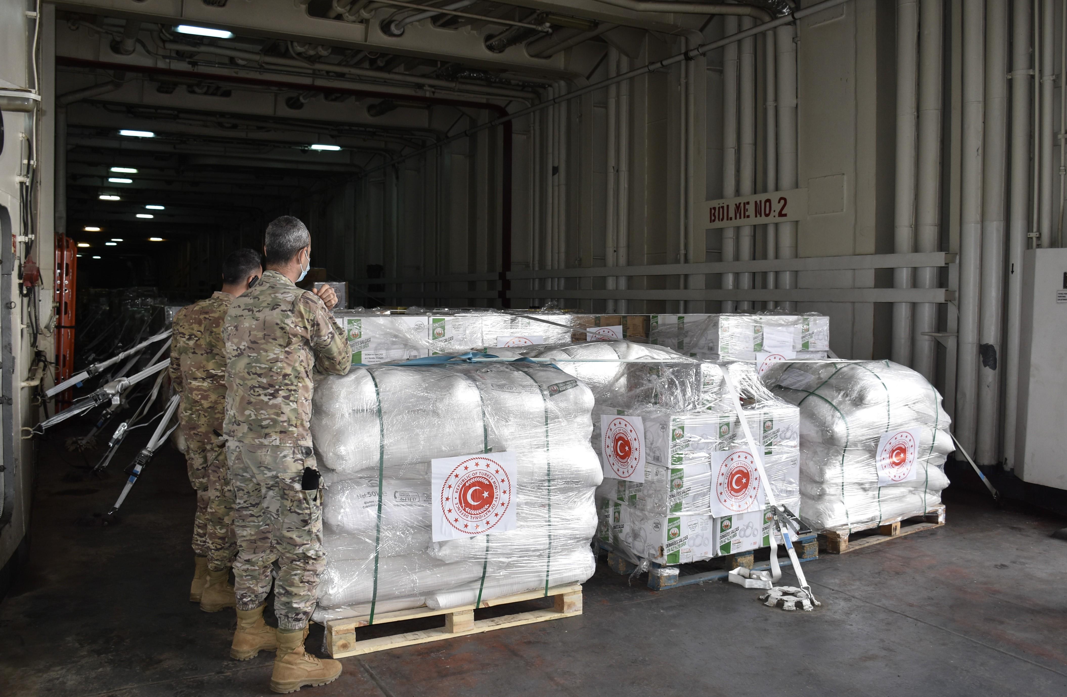 TSK'dan o ülkenin ordusuna yardım eli