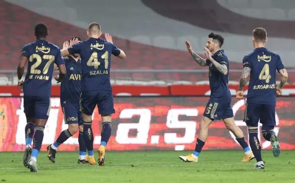 Fenerbahçe, Konya'da rahat kazandı