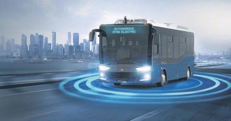 Sürücüsüz yerli otobüs ABD'de öğrenci taşıyacak