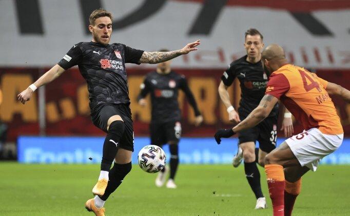 Galatasaray'a bir darbe de Sivas'tan!
