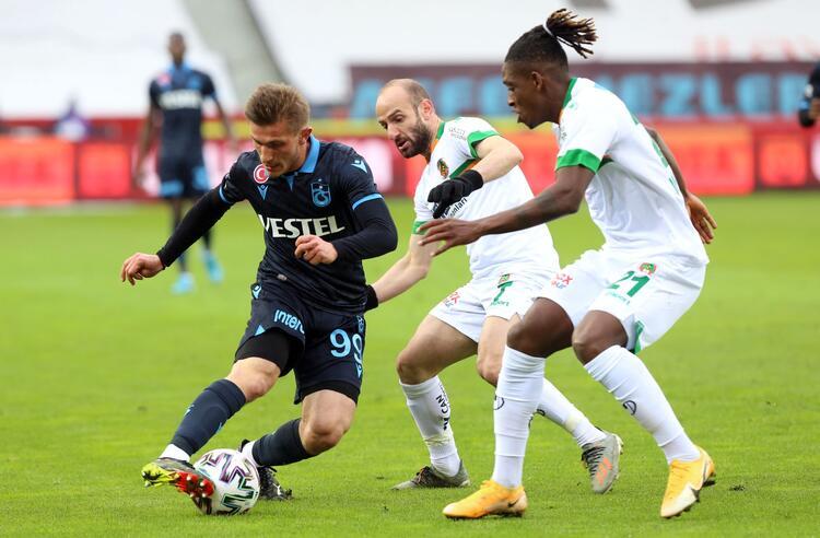 Trabzonspor'a Alanya darbesi