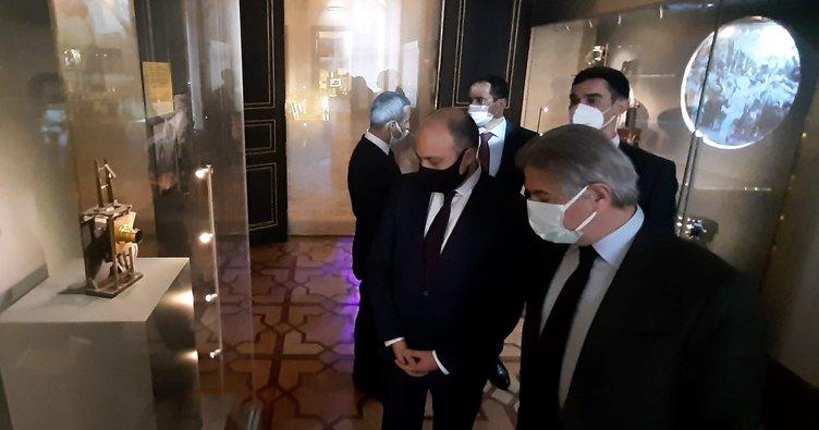 Azerbaycan Kültür Bakanı savaş filmi için Türk yapımcılarla bir araya geldi