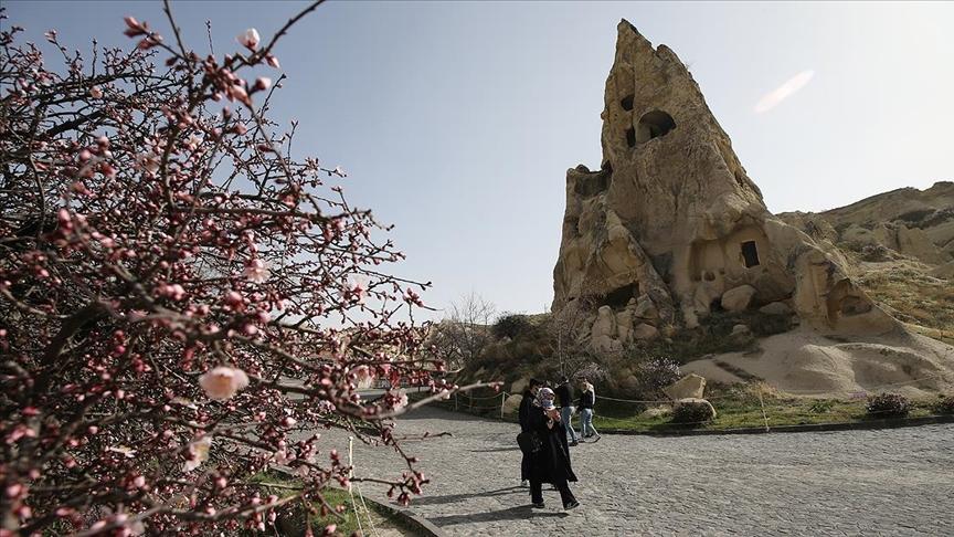 Kapadokya yılın ilk çeyreğinde yaklaşık 200 bin turist ağırladı