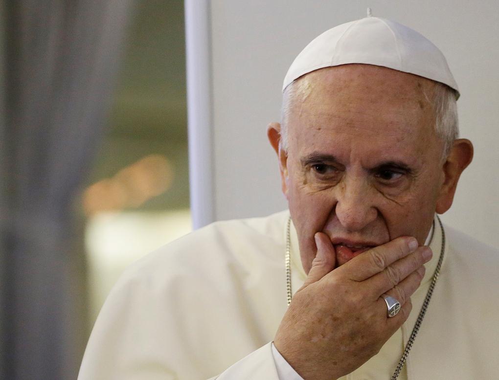 Papa Franciscus'tan Kudüs açıklaması