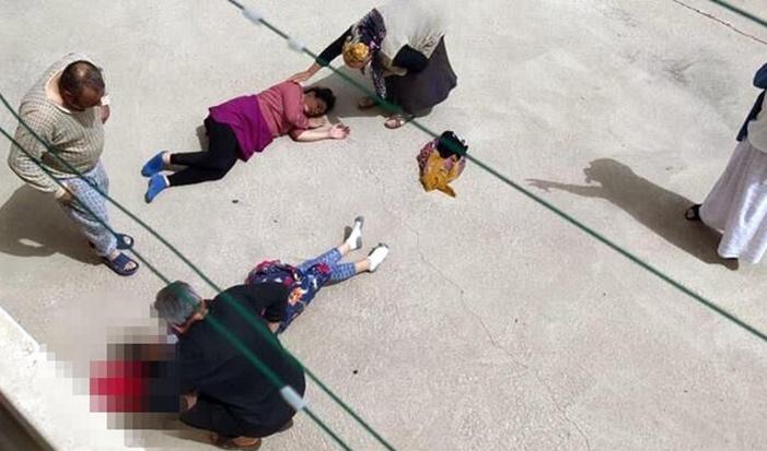 Gelin-görümce 2'nci katın balkonundan düştü