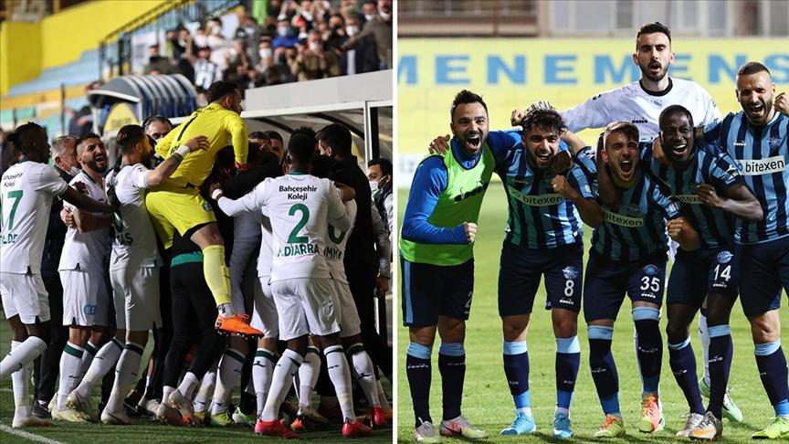 Adana Demirspor ve Giresunspor, Süper Lig'de