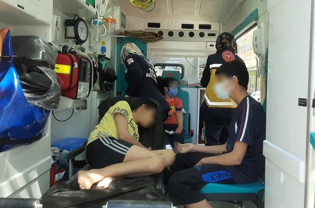 Ekip sevk edildi! 6 kişilik aile hastaneye kaldırıldı