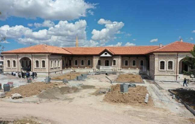 Sanayi Mektebi Müzesi açılışa hazırlanıyor