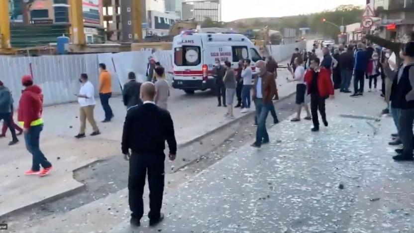 Kaymakamlık açıkladı! İstanbul'daki şiddetli patlamanın nedeni belli oldu