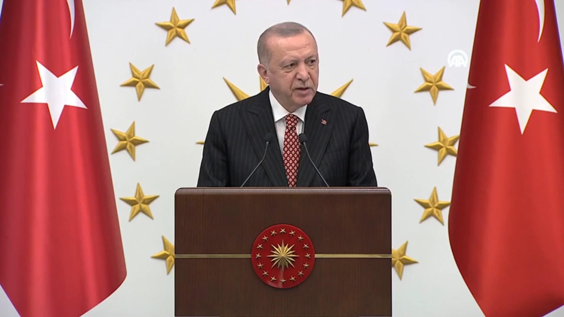 Önemli açıklamalar! Cumhurbaşkanı Erdoğan belediye başkanlarına hitap etti