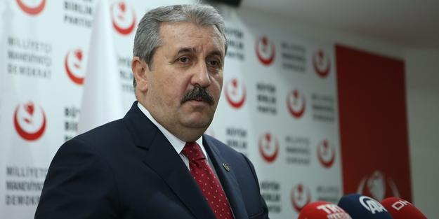 Mustafa Destici'den Babalar Günü mesajı