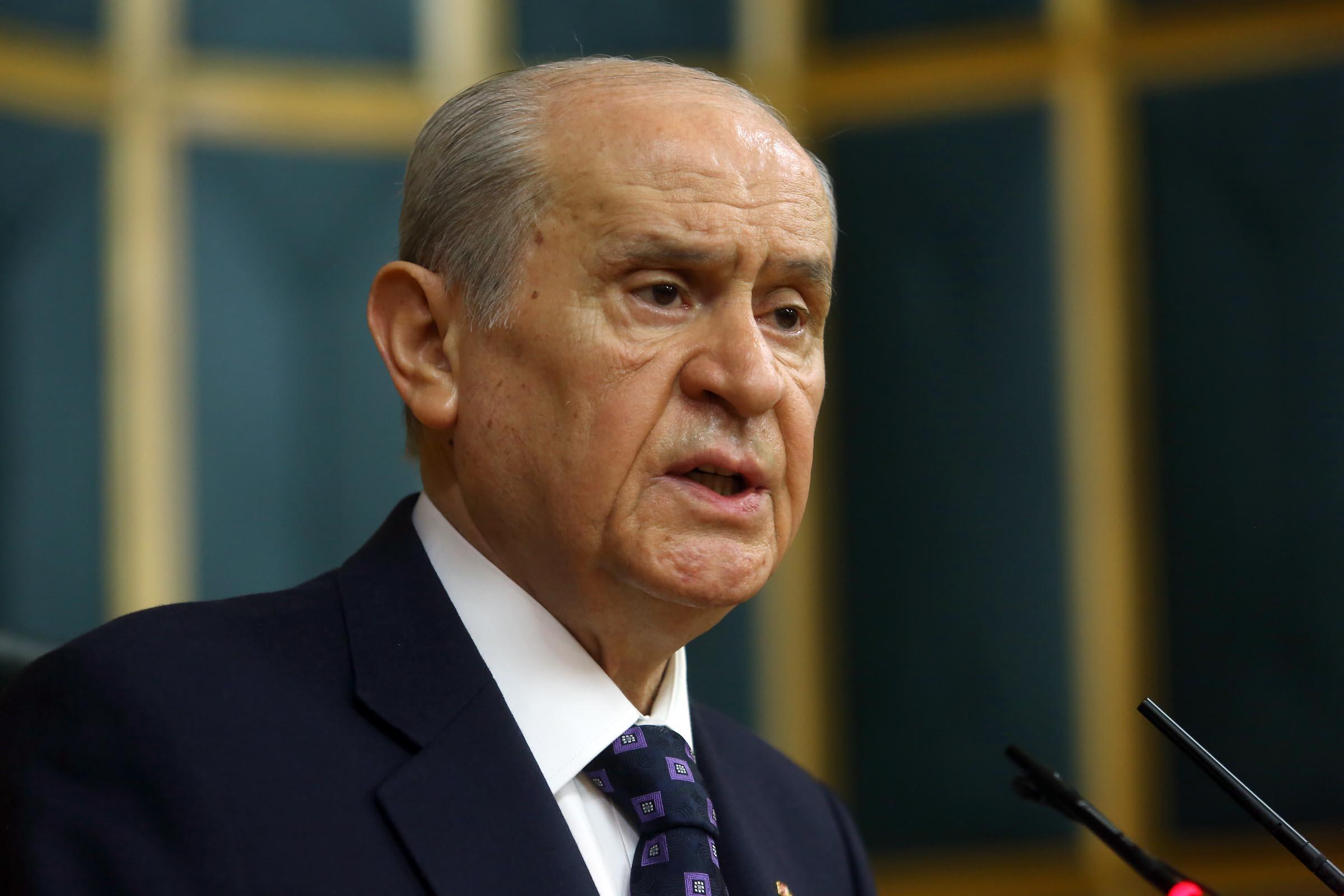 Devlet Bahçeli'den HDP'ye yapılan saldırıyla ilgili flaş açıklamalar