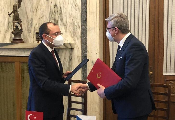 Türkiye ile Avrupa ülkesi arasında imzalar atıldı