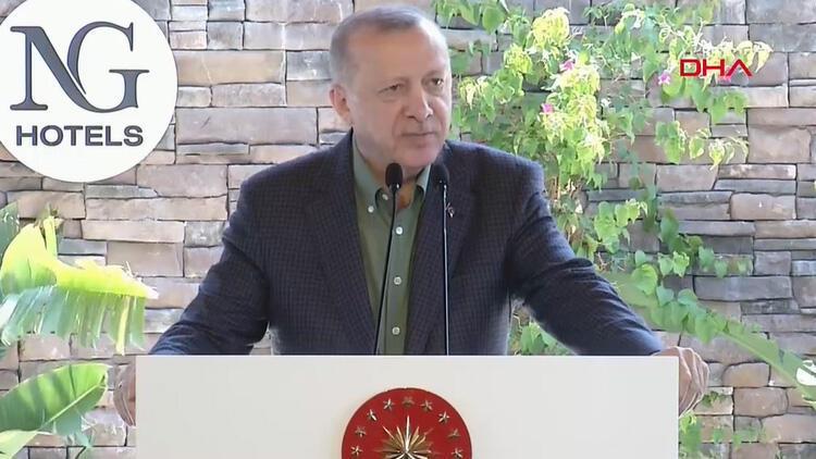 Cumhurbaşkanı Erdoğan: Pazartesi müjdeyi veririz