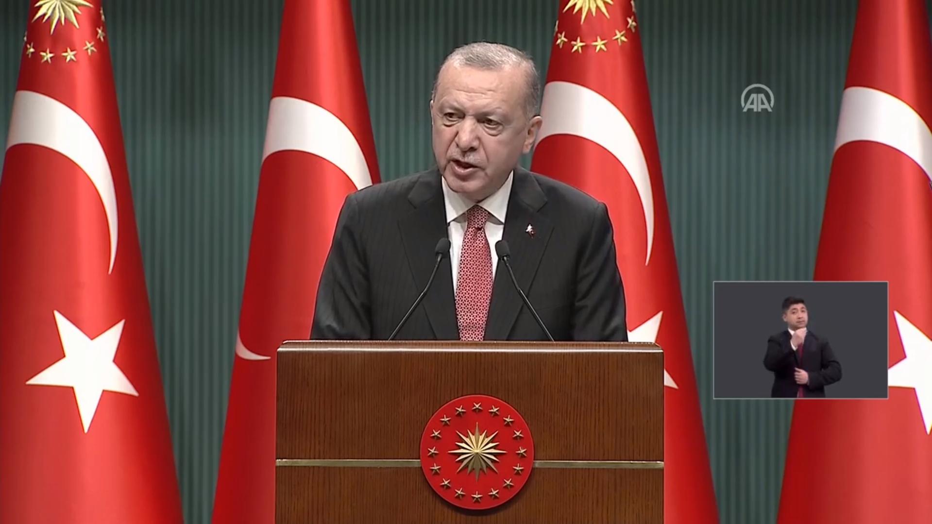 Cumhurbaşkanı Erdoğan yeni normalleşme kararlarını duyurdu! Sokağa çıkma kısıtlamaları tümüyle kaldırılıyor