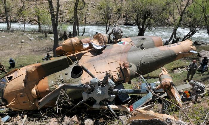 Taliban Əfqan Ordusuna məxsus helikopteri vurduğunu iddia edir