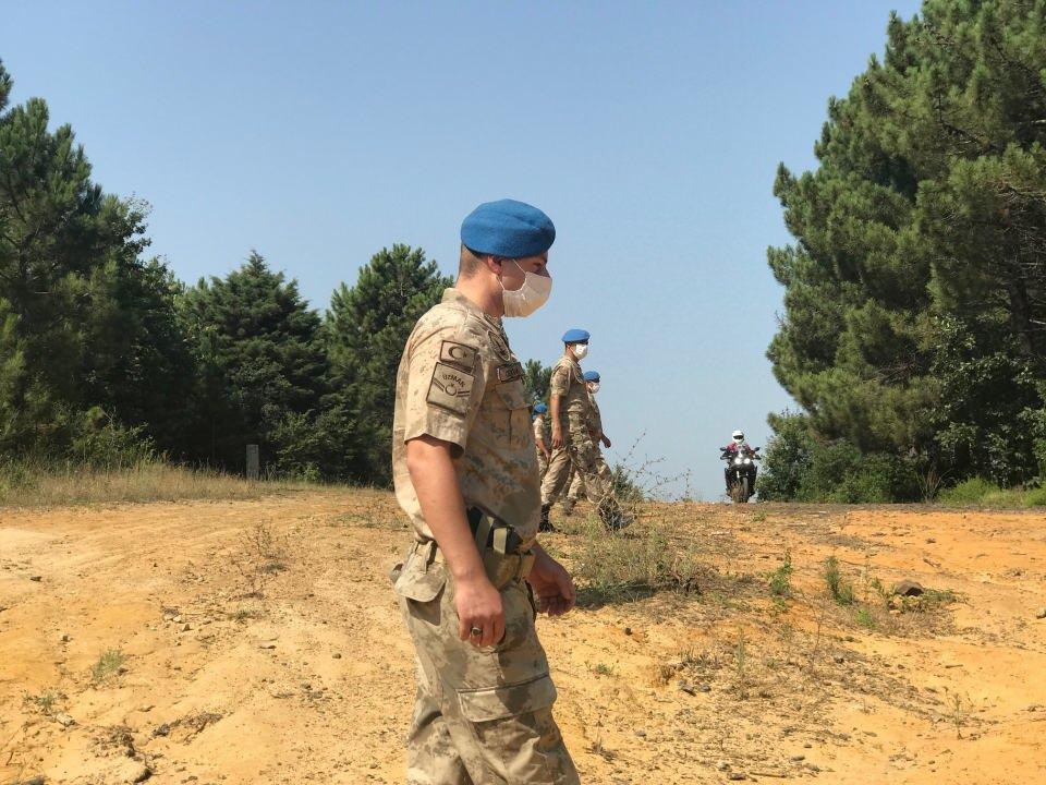 Jandarmalar yasak sonrası ormanları denetliyor!
