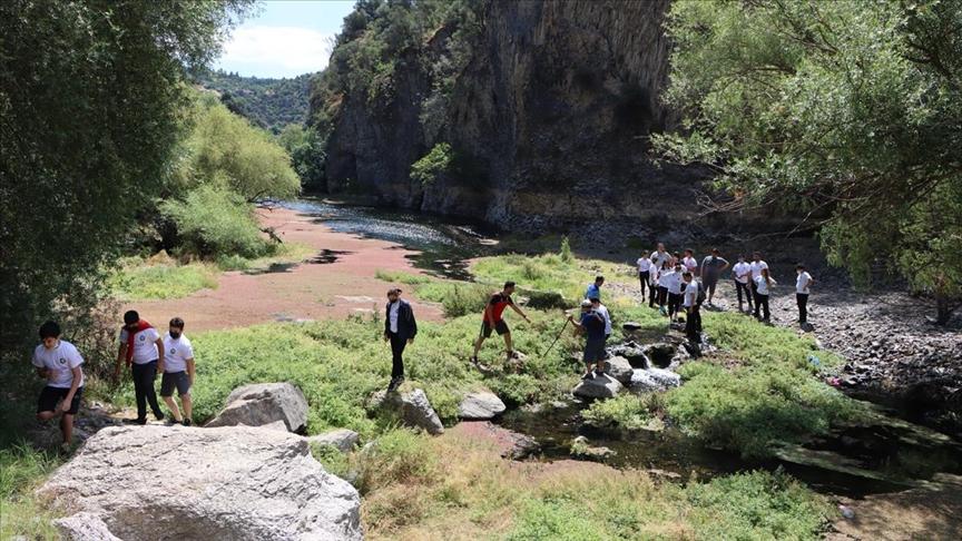 'Yanık Ülke'nin 12 bin yıllık kanyonu: Adala