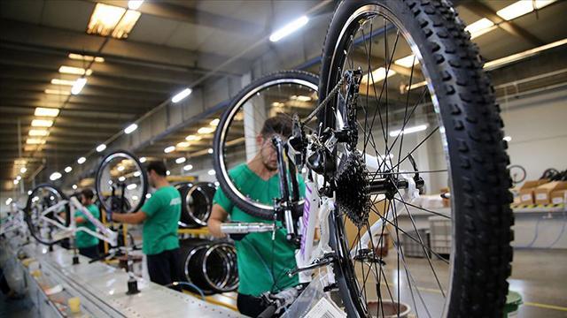 Türkiye'nin bisiklet ihracatı yüzde 88 arttı