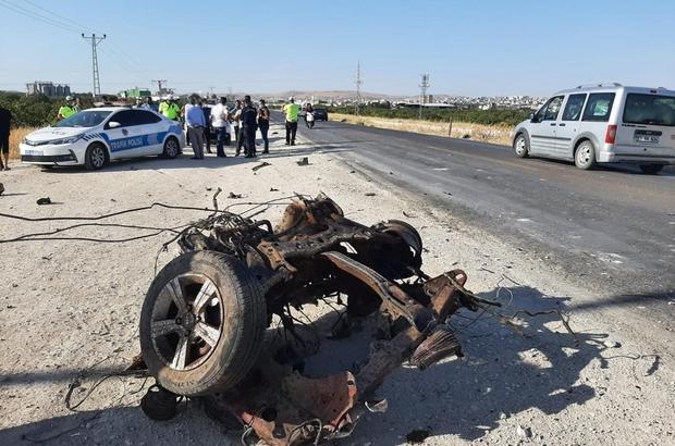 Karayolu savaş alanına döndü: 4 yaralı