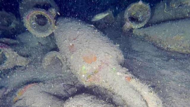 Sicilya açıklarında antik Roma gemisi keşfedildi
