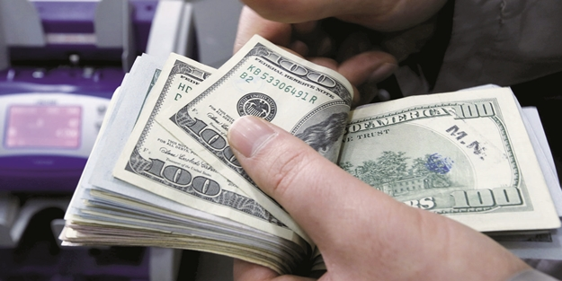 1,5 ayın en düşük seviyesini gören dolar yeni güne yükselişle başladı