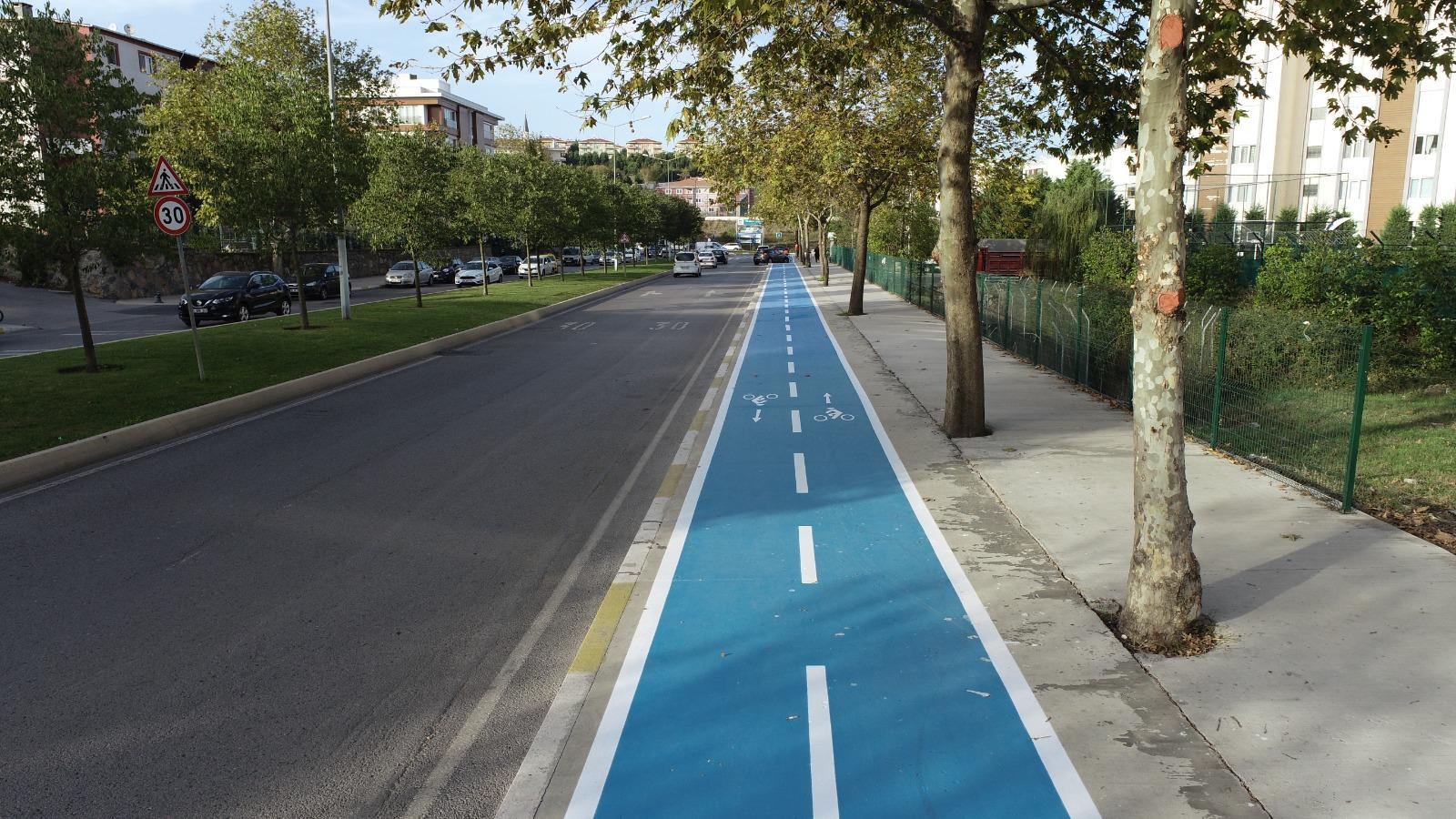 Pendik'te bisiklet yolları yaygınlaşıyor