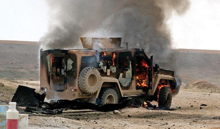 ABD konvoyuna bombalı saldırı düzenlendi