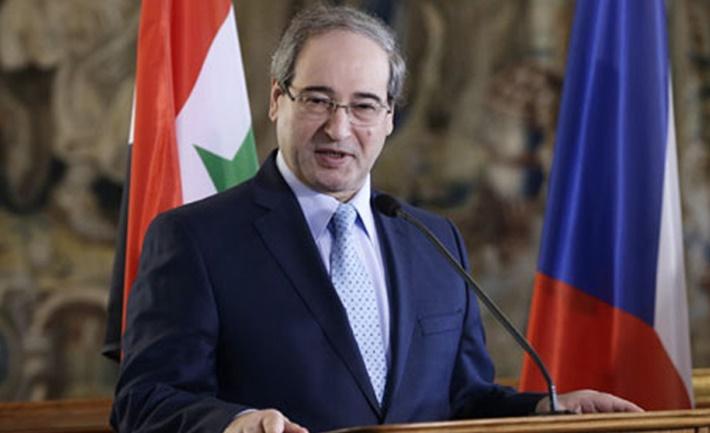 Esed rejimi Dışişleri Bakanı: Türkiye işgale son vermeli