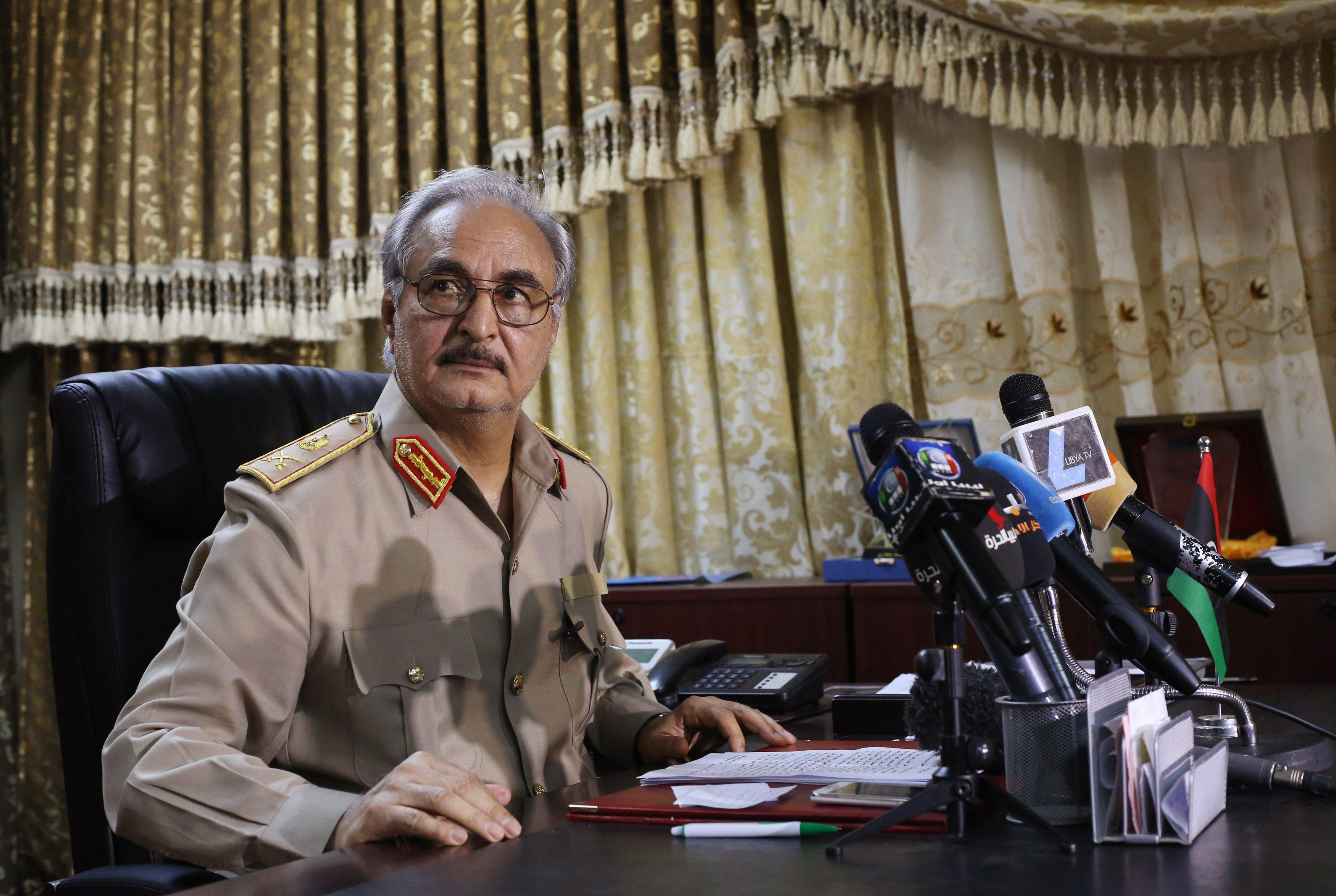 Kritik tarihe 3 ay kala Hafter'den flaş karar