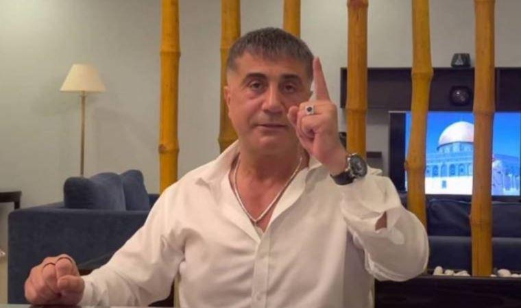 Anadolu Cumhuriyet Başsavcılığı, suç örgütü lideri Sedat Peker'e dava açtı
